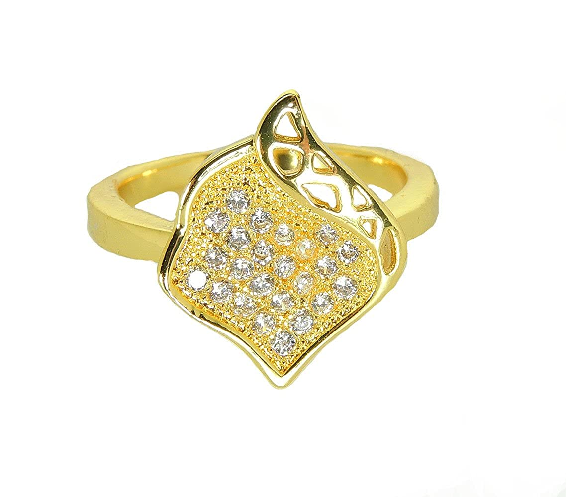 Ginger Lyne Collection Bella Gorgeous Cocktail Ring