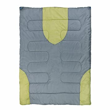 10T Outdoor Equipment 10T Harrison Saco de Dormir de Manta, Gris, Estándar