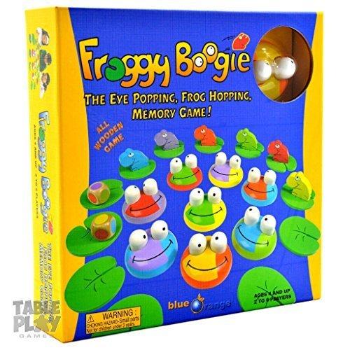 Blue Orange Froggy Boogie