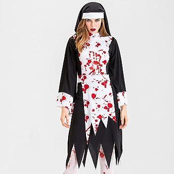 Disfraz De Enfermera Zombie para Mujer Adulta Sangriento Sexy ...