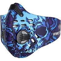 Romdink Maschera Antipolvere a Carboni Attivi Maschera a Carboni Attivi per filtrazione del Carbone Maschera Anti-inquinamento PM 2,5 per attività all'aperto