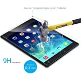 """New iPad Pro 12.9"""" Screen Protector 2017, Bovon Ultra Clear Thin UV Resistant Anti Scratch - Tempered Glass Screen Protector for iPad Pro (12.9-Inch)"""
