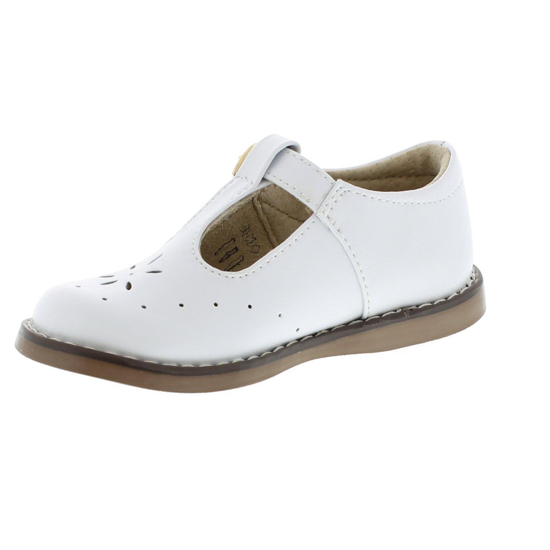 FOOTMATES Sherry (7.5 Toddler M/W, White) by FOOTMATES (Image #5)