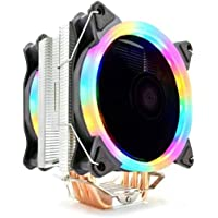 Snowman T6 (AMD/Intel Uyumlu) CPU Soğutucu Rainbow Fan