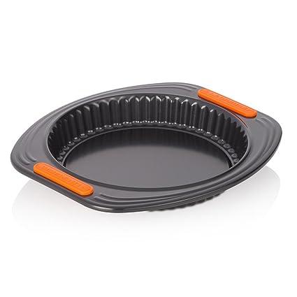 Le Creuset - Molde para Quiche/Flan Tin de Acero al Carbono, 20 cm