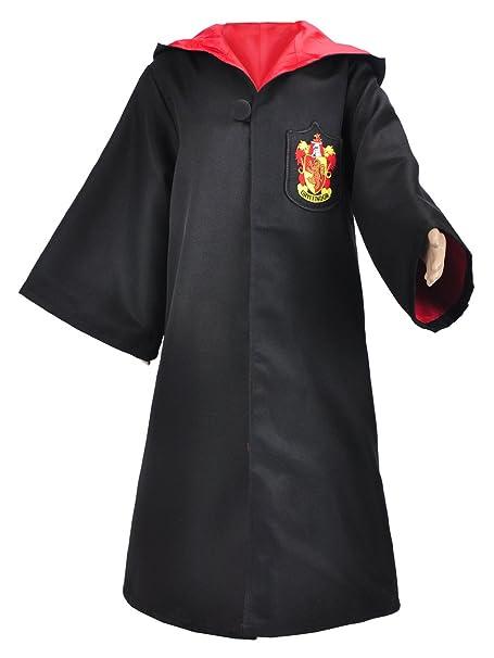 Amazon.com: Gryffindor Cosplay disfraz Deluxe Child ...