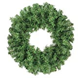 Northlight Colorado Spruce 2-Tone Artificial X-Mas Wreath, Green