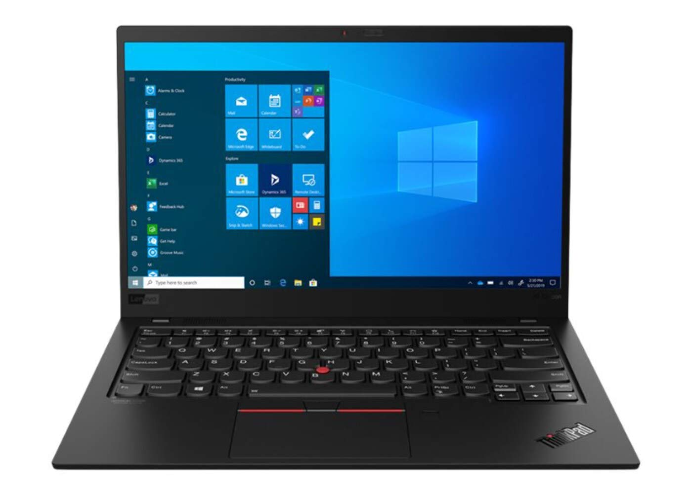 "Latest Gen 8 Lenovo ThinkPad X1 Carbon 14"" FHD Ultrabook (400 nits) with 10th Gen Intel i7-10510U Processor up to 4.90 GHz, 1 TB PCIe SSD, 16GB RAM, and Windows 10 Pro"