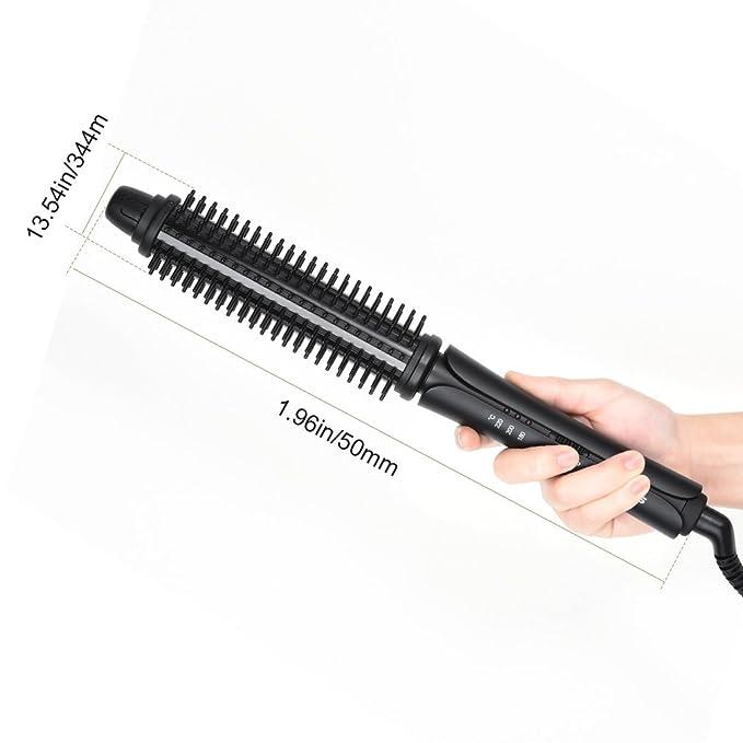 Plancha de Pelo,U-Kiss 3 en 1 Rizador de Pelo, Cepillo alisador de pelo: Amazon.es: Belleza