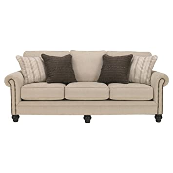 Awesome Signature Design By Ashley Milari Classic Sofa Linen Gamerscity Chair Design For Home Gamerscityorg