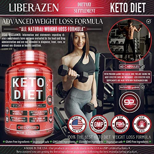 Keto Diet Pills - Instant Exogenous Ketones for Fuel and Natural Burn and Fat Loss Blast - Advanced Weight Loss Pure Keto Supplements for Fast Ketosis - 60 Capsules 3