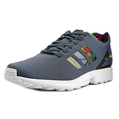 detailed look 50e91 813dc Amazon.com | adidas Originals Mens ZX Flux Running Shoes ...