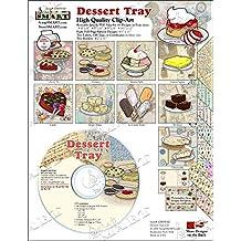 ScrapSMART - Dessert Tray - Clip Art Software Collection - Jpeg & PDF files (CDDT110)