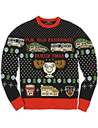 Christmas Vacation Fun Old Fashioned Family Xmas Ugly Christmas Sweater
