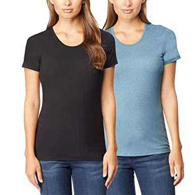 limited price great quality customers first 32 DEGREES Women 2 Pack Cool Scoop Neck Wicking Tee Shirt