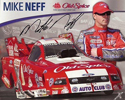 mike-neff-old-spice-signed-8x10-photo-autographed-photos