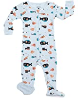 Leveret Baby Boys Footed Sleeper Pajama 100% Cotton (Size 6 Months-5 Toddler)