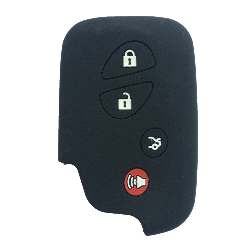 Pink Key Fob Case Cover Jacket Keyless Remote Smart Key Fob Skin Clicker Case Skin Cover for Lexus GS430 GS300 IS350 IS250