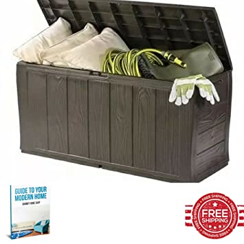Pleasing Amazon De Kunststoff Storage Bench Aufbewahrungsbox Gross Pabps2019 Chair Design Images Pabps2019Com