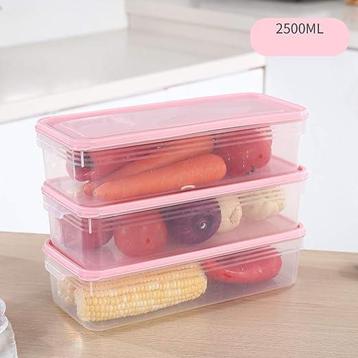 Refrigerador Sellado Caja De Almacenamiento Rectangular Caja De ...