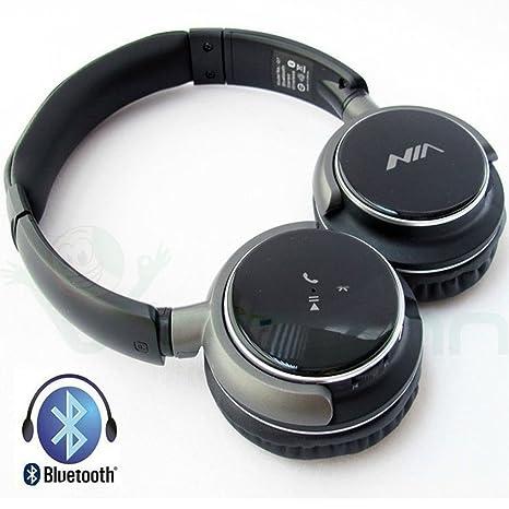 Auriculares Estéreo Bluetooth 4.0 Nia Q7 Auriculares inalámbrico micrófono para Smartphone y Tablet universales