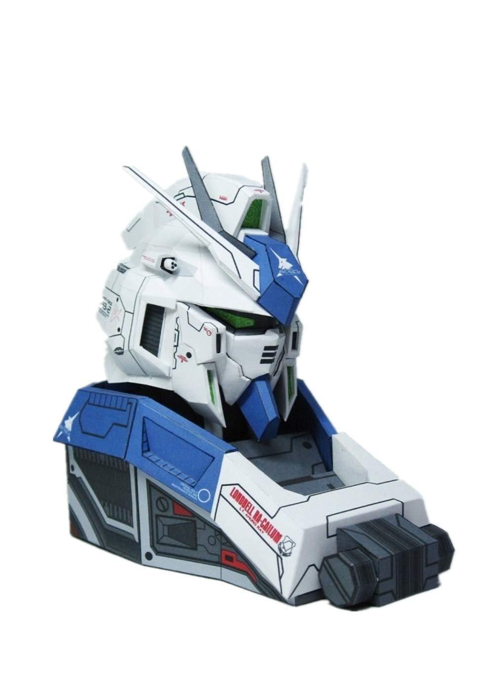 Amazon com : RX-93-2 HI-V Manatee Gundam Bust Paper 3D Model