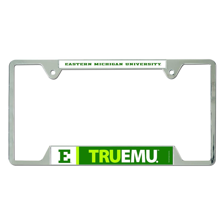 Wincraft NCAA Eastern Michigan University Metal License Plate Frame 91060024
