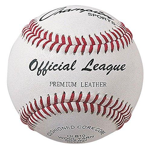 Champion Olbxx Double Cushion Cork Core Leather Baseball Pac