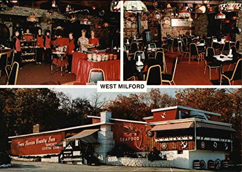 Town Tavern Country Inn West Milford, New Jersey NJ Original Vintage Postcard (Town Tavern Country Inn West Milford Nj)