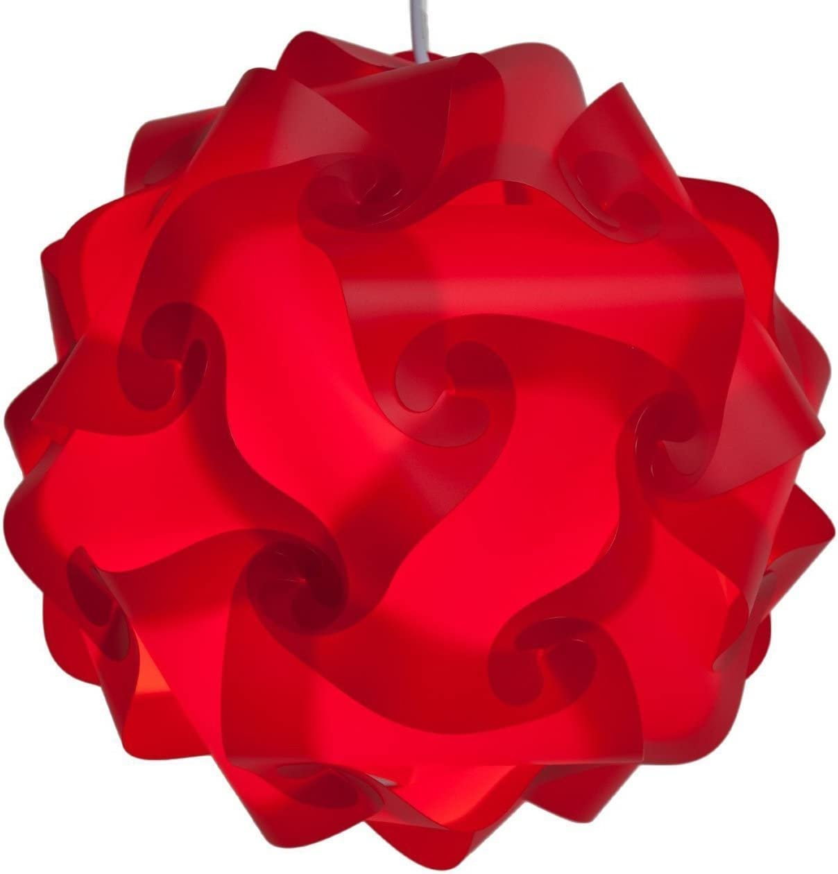 Lightingsky IQ Lamp Shade Toy Self DIY Assembled Puzzle Lights for Room Decoration Sky, Small-25cm