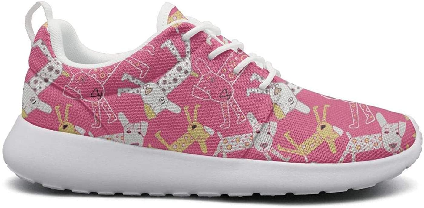 German Shepherds Womens Novelty Lightweight Tennis Sneakers Gym Outdoor Running Shoes