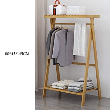Amazon.com: PLLP Coat Racks Clothes Stand 3 in 1 Fashion ...