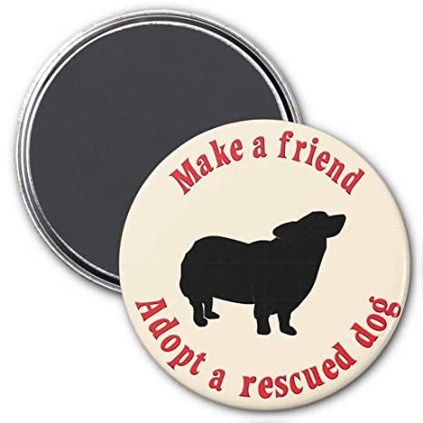 "Review Zazzle Make a Friend - Pembroke Welsh Corgi Magnet, 3"" Round"