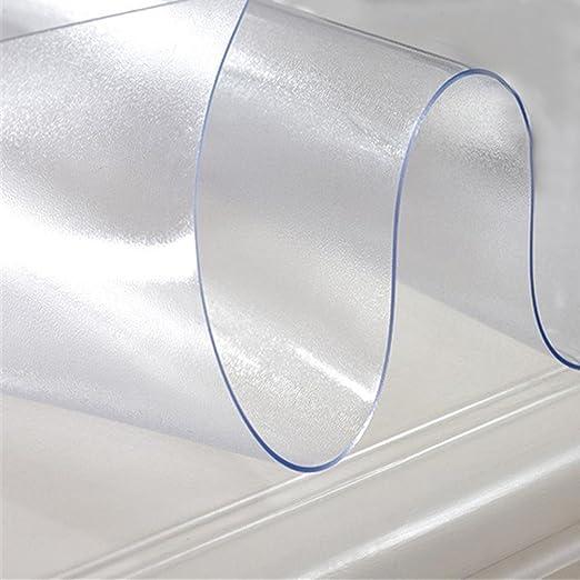 Knowled 1,5 mm Mantel Transparente Protector de PVC Impermeable ...