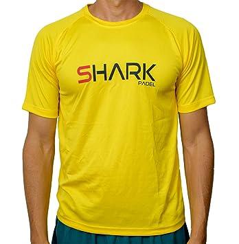 Shark Padel Camiseta Tecnica SH1030: Amazon.es: Deportes y ...