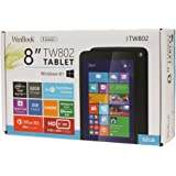 WinBook TW802 Tablet, 8-Inch 32 GB Windows 8.1 with full-size USB port, IPS Display