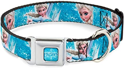 Disney Frozen Elsa Double Sided Pet Id Dog Tag Personalized w// Name /& Number