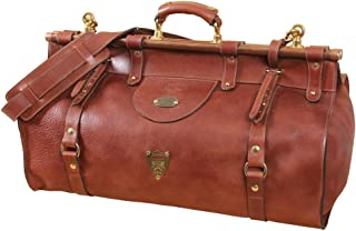 product image for Col. Littleton Full-Grain Leather No. 3 Grip Travel Bag