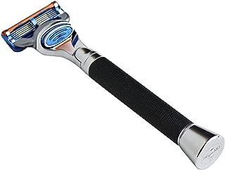 product image for Razor MD Custom 5 Blade Razor with iGRIP Technology - iGrip Black - Compatible with Gillette Fushion & ProGlide Blades