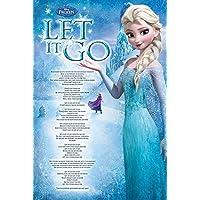 Disney Frozen amp; # 39; S Let it Go footprints Maxi Poster 61x 91.5cm