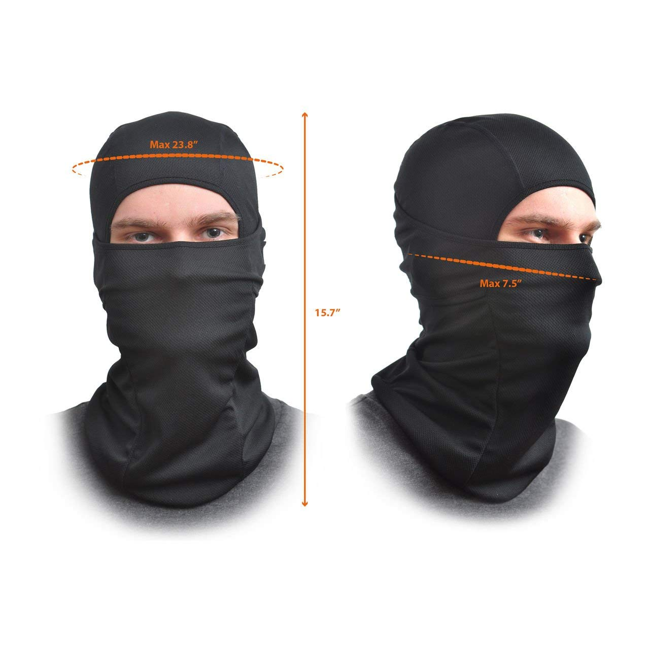 AFA Tooling Balaclava Face Mask One Size Fits All Elastic Fabric