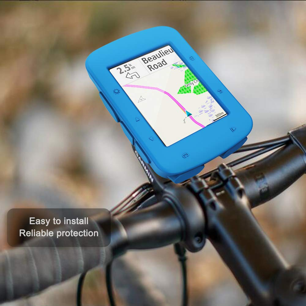 Silicone Protective Cover GPS Bike Computer Accessories AMCS94X2 TUSITA Case for Garmin/ Edge/ 520 Plus