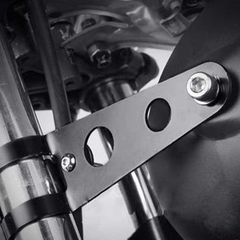 Wie Abgebildet Show 38-51mm Frontscheinwerfer Motorrad Halterung Halter Licht Frontscheinwerfer Rahmen Halterung Gabel Ohr f/ür Motorrad Chopper Cafe Racer