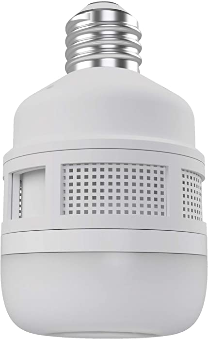 CLEANRTH FLYLIGHT | 75-watt Warm LED Light Bulb That Vacuums & Traps Flying Bugs to Create Insect Fly Control