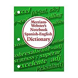 MERRIAM - WEBSTER INC. MERRIAM WEBSTERS NOTEBOOK SPANISH (Set of 24)
