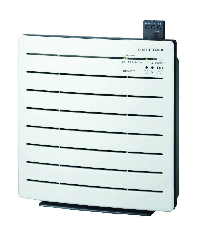日立 【PM2.5対応】 空気清浄機 ホワイト EP-JZ30 W B00FPESCY2