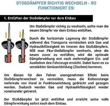 Sachs 2x Stoßdämpfer M Technik 311410 Auto