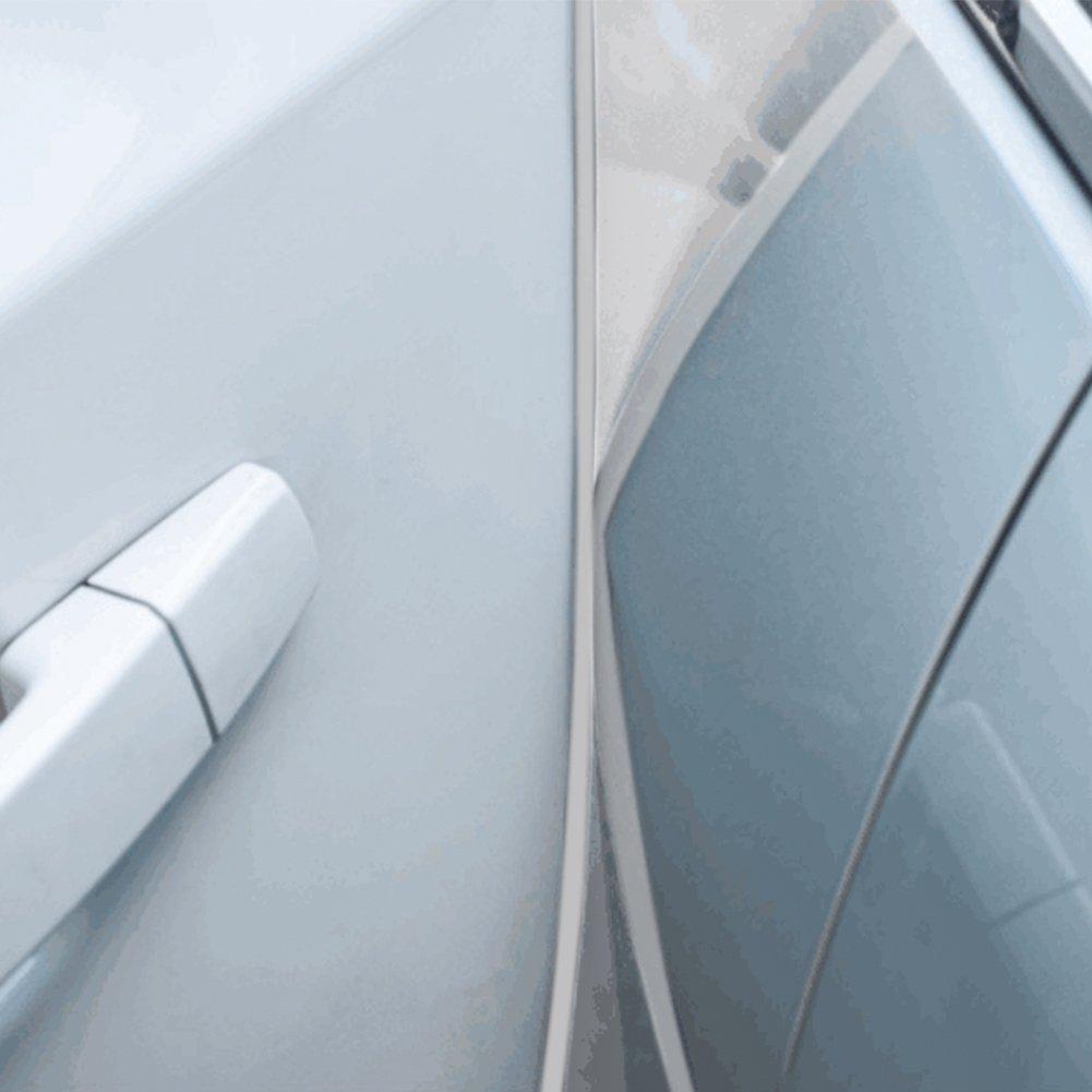 Protecteur de bord de porte de voiture, Blanc