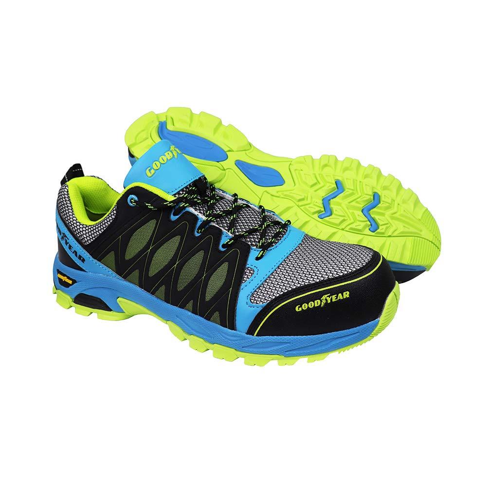 Goodyear GYSHU1503 - Zapatillas de seguridad para hombre, Multicolor, 43 EU (9 UK)