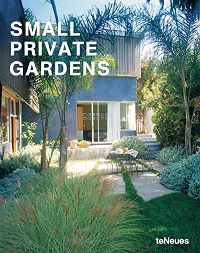 Cheap  Small Private Gardens (German, English, French, Italian and Spanish Edition)